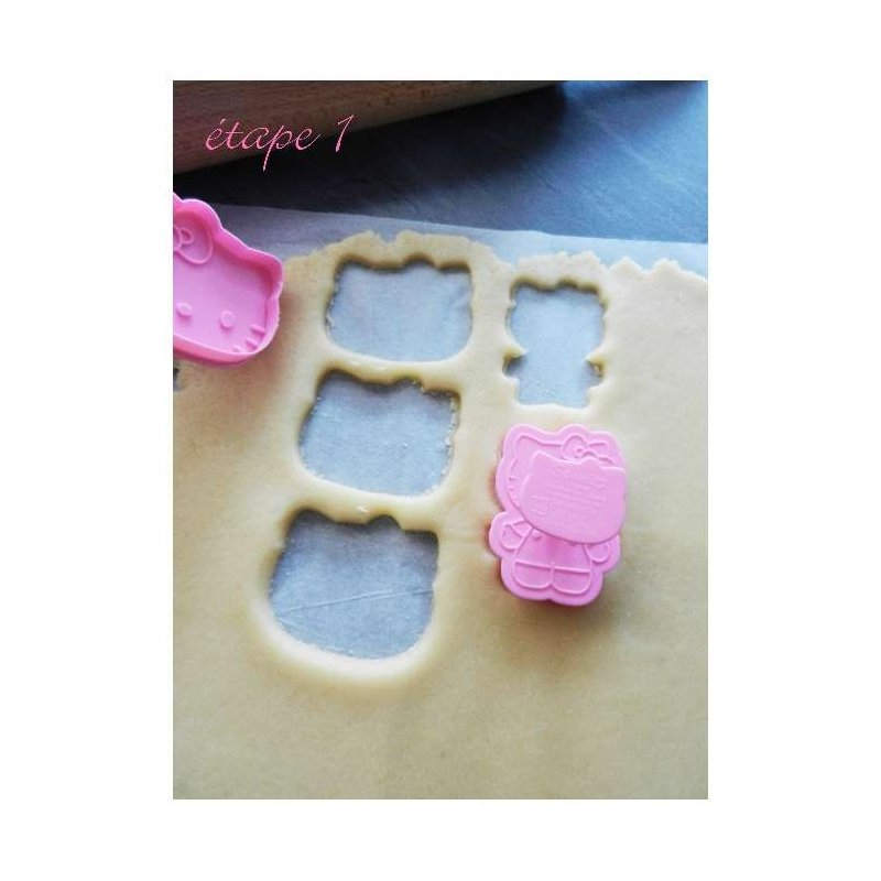 Tuto Realiser Des Sables Hello Kitty Decores De Pate A Sucre Par