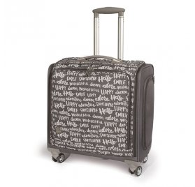 Valise à roulettes 360° - We R Memory Keepers - Gris