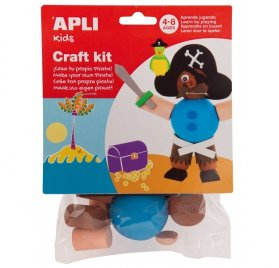 Kit Mousse 'Apli' Pirate