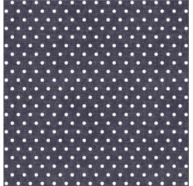 Papier toile 30x30 'We R Memory Keepers - Denim Blues' Pois Blancs