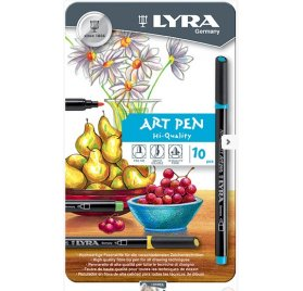 Set de 10 feutres'Lyra - Art pen'