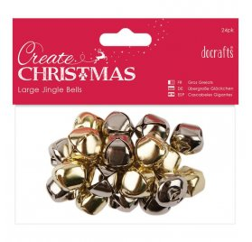 Grelots 'Docrafts - Create Christmas' Qté 20