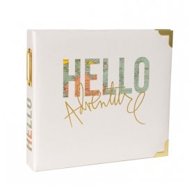 Album 20x20 'Heidi Swapp - Project Life' Hello Adventure