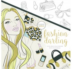 Livre de coloriages 'Kaisercraft - Kaisercolour' Fashion Darling