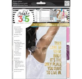 Pack d'extension 'Me & My Big Ideas - The Happy Planner' Pages Fitness