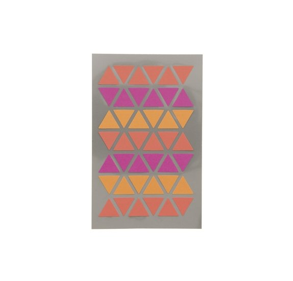 Autocollants 'Rico Design - Paper Poetry' Triangles fuchsia/rouge