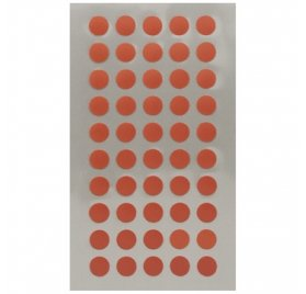 Autocollants 'Rico Design - Paper Poetry' Points rouges 8mm