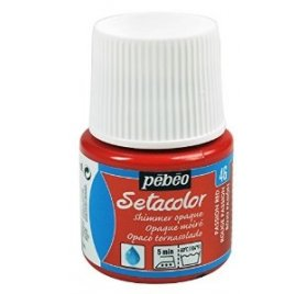 Pot de peinture textile 'Pébéo - Setacolor' Rouge Passion 45ml