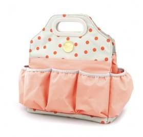 Sac Tote Bag 'We R Memory Keepers' Pois Rose