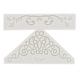 Moule en silicone 'WePAM' Double broderie chic