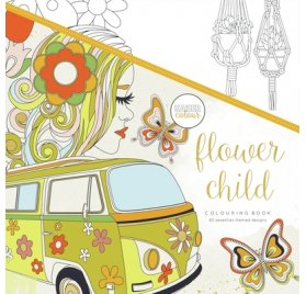 Livre de coloriages 'Kaisercraft - Kaisercolour' Flower Child