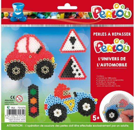 Kit Perles à repasser Perlou 'Graine Créative' L'Univers de l'automobile