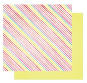 Papier double 30x30 'Fancy Pants - Joy Parade' Laugh Out Loud
