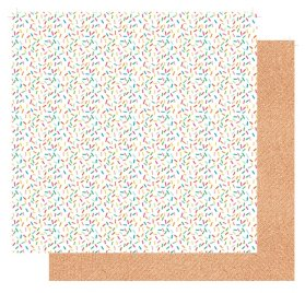 Papier double 30x30 'Fancy Pants - Joy Parade' Sprinkle Some Joy