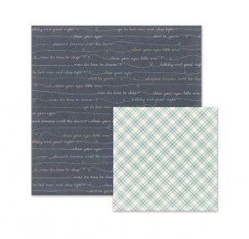Papier double 30x30 'We R Memory Keepers - Little One' Lullaby