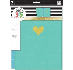 Grande couverture rigide 'Me & My Big Ideas - The Happy Planner' Snap in Hard Turquoise Coeur Or
