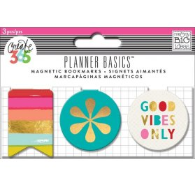 Clips magnétiques 'Me & My Big Ideas - The Happy Planner' Bright Heart Qté 3