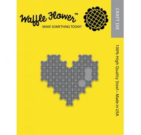 Dies/ Matrices de découpe 'Waffle Flower' Willy & Friends