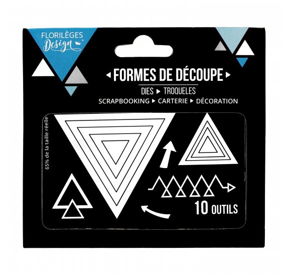 Die / Matrice de découpe 'Florilèges Design-sweety cuts' Triangles
