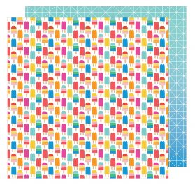 Papier double 30x30 'American Crafts - On a Whim' Keep Your Cool
