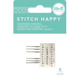 Aiguilles 'We R Memory Keepers - Stitch Happy' Qté 6