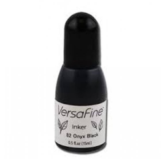 Recharge Versafine - Tsukineko - onyx black - 15 ml