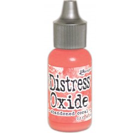 Recharge Encre Distress 'Tim Holtz - Distress Oxide' Abandoned Coral 14 ml