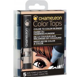 Encre à alcool 'Chameleon - Color Tops' Tons Chair Qté 5