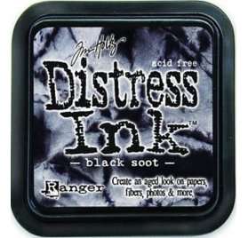Encre Distress - Ranger - Black Soot