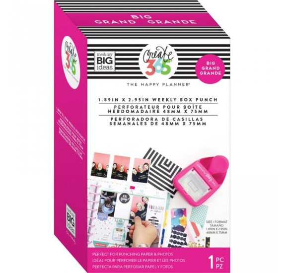Grande Perforatrice 'Me & My Big Ideas - The Happy Planner' Rose