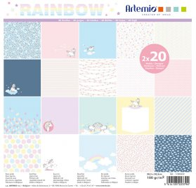 Assortiment 30x30 'Artemio - Rainbow' Qté 40