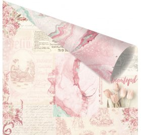 Papier double 30x30 'Prima - Love Story' Loves Notes Only For You