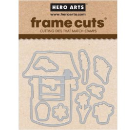9 Dies/Matrices de découpe 'Hero Arts' Wishill Well Frame Cuts