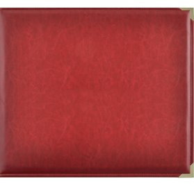 Album 30x30 'Kaisercraft' Simili cuir Rouge