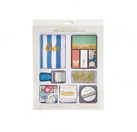 Kit de 96 embellissements pour organiseur 'Webster's Pages - Color Crush' Love Everyday
