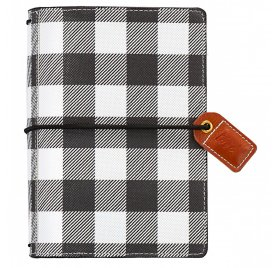 Mini carnet de voyage 'Webster's Pages - Color Crush' Travelers Notebook Buffalo Plaid