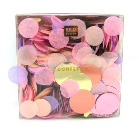 20g de Confetti 'Rico Design - Let's Party' Pastel Mix