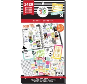 Bloc de 1429 autocollants 'Me & My Big Ideas - The Happy Planner' Sports