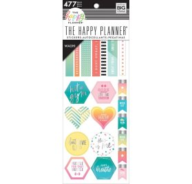 477 autocollants washi 'Me & My Big Ideas - The Happy Planner' Fitness