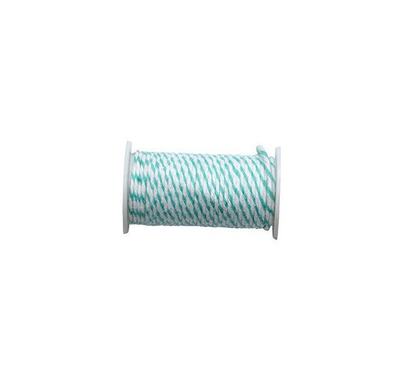 Fil métallique de 2.74 m 'We R Memory Keepers - Happy Jig' Baker's Twine Turquoise