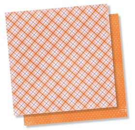 Papier double 30x30 'Simple Stories - Forever Fall' Pumpkin Everything