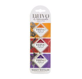 Pack de 3 Encres 'Nuvo - Hybrid Inks ' Sunset Serenade