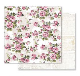 papiers doubles 30.5x 30.5cm 'Prima - Misty Rose'Their words for each other