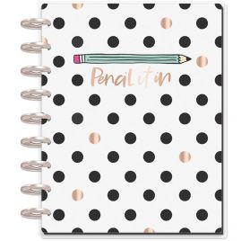 Organiseur moyen pour étudiant 'Me & My Big Ideas - The Happy Planner' Pencil It In (Août 2018-Juillet 2019)