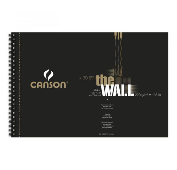Bloc de 30 papiers A3 'Canson' The Wall 220 gr/m²