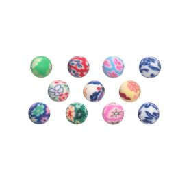 Perles boules multicolores 'Rico Design - Made by me'