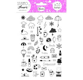 Kit Stampo Scrap 'Aladine' Planner Girly