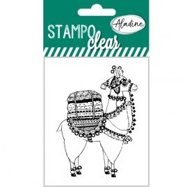 1 Tampons transparents 'Aladine - Stampo Clear' Lama 1