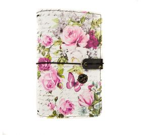 Carnet de voyage Personnel 'Prima - Traveler's Journal' Misty Rose