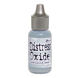 Recharge Encre Distress 'Tim Holtz - Distress Oxide' Weathered Wood  14 ml